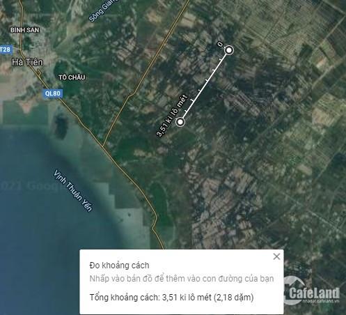 Bán Đất, 76 ha, Thuận An, Phú Mỹ, Giang Thành, Kiên Giang.