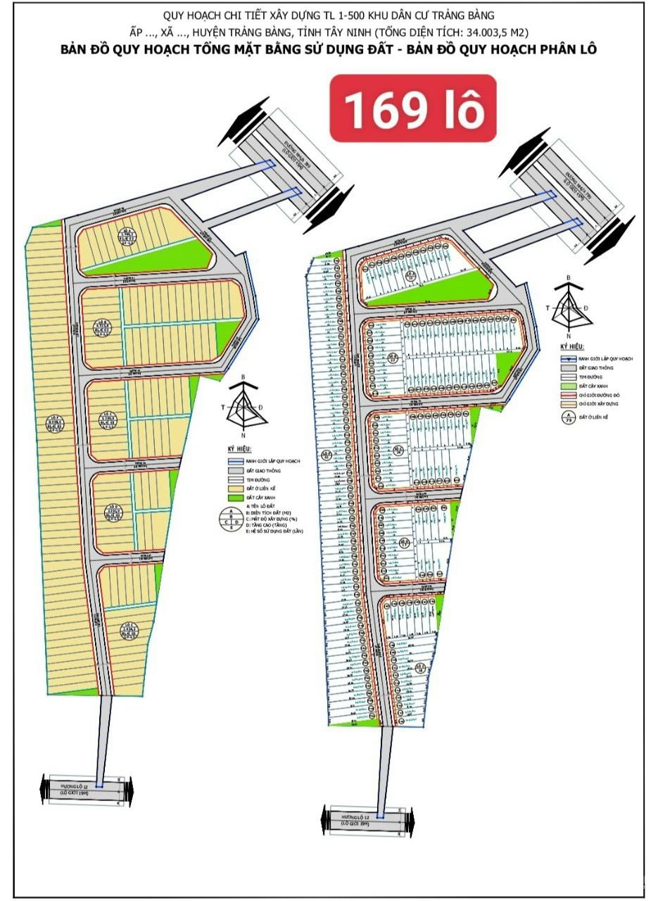 Bán đất mặt tiền Trảng Bàng -  34.000m2 - giá 800 ngàn/m2
