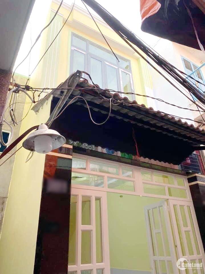 Nhà mới vào ở ngay, 2PN, 2WC hẻm 1199 Phạm Thế Hiển P5 Q8