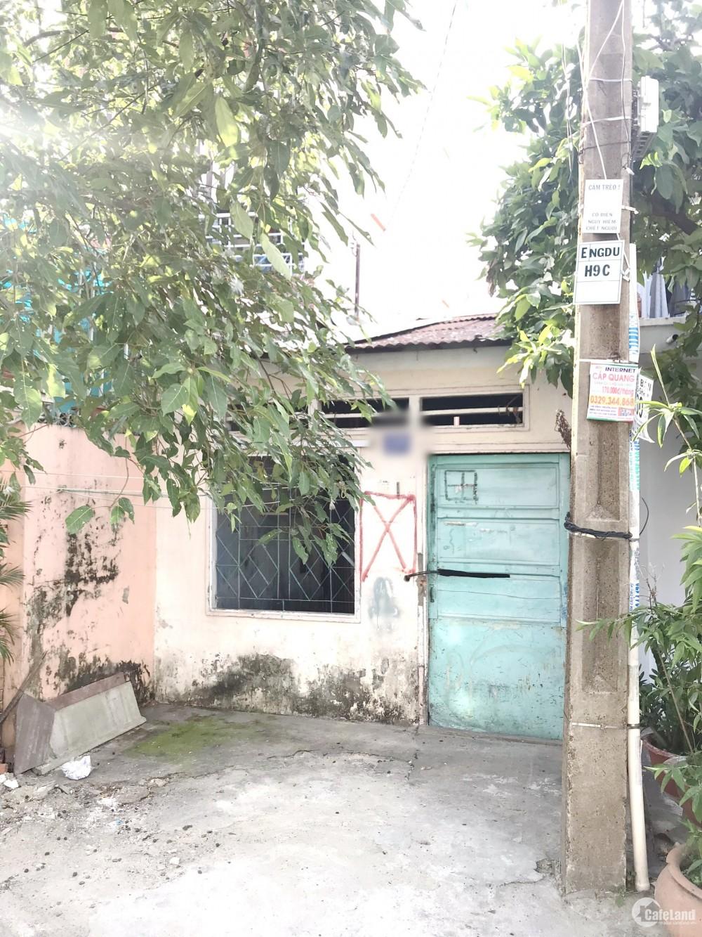 Nhà cấp 4 mặt tiền đường Nguyễn Duy view sông Phường 9 Quận 8