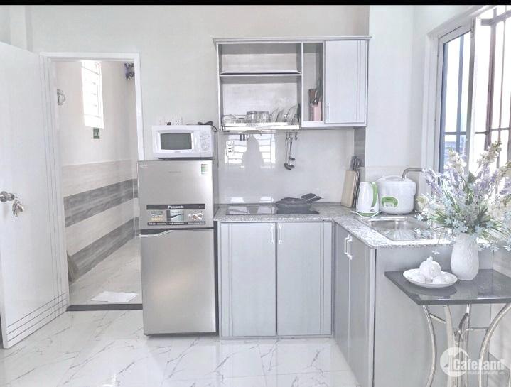 Cho thuê căn hộ mini (50m2) full nội thất mặt tiền đường Dã Tượng P.10 Q8