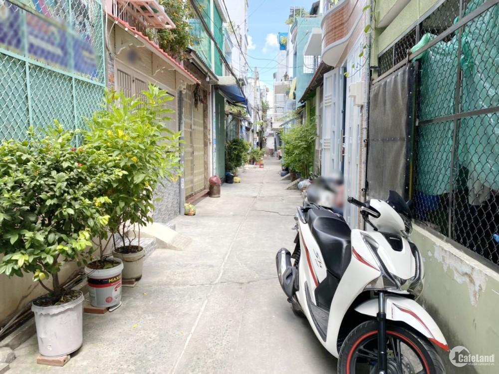 Nhà Bán Hẻm đường Hưng Phú thông đường Võ Trứ P9 Q8