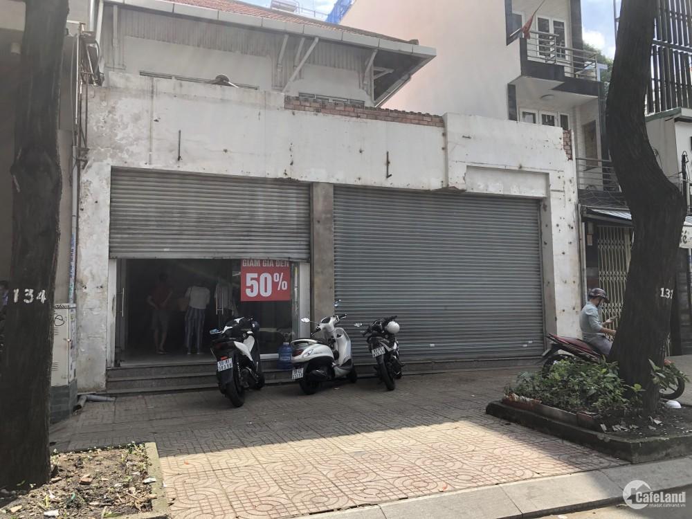 Cho thuê nhà mặt tiền đường Phạm Ngọc Thạch. Phường 6. Quận 3