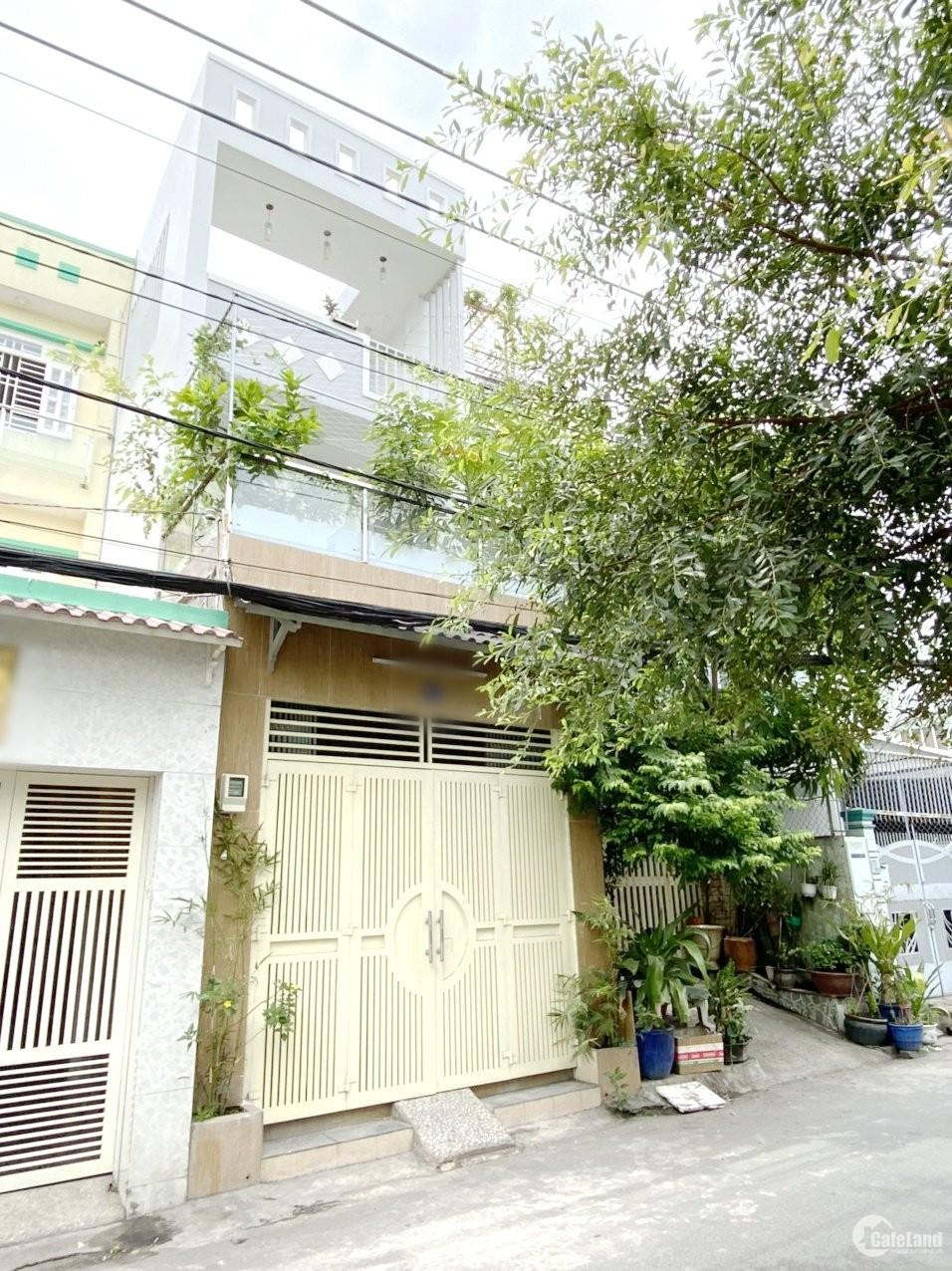 Nhà (4*19.4m) mặt tiền đường xe tải 195 khu nội bộ Bùi Minh Trực Phường 5 Quận 8