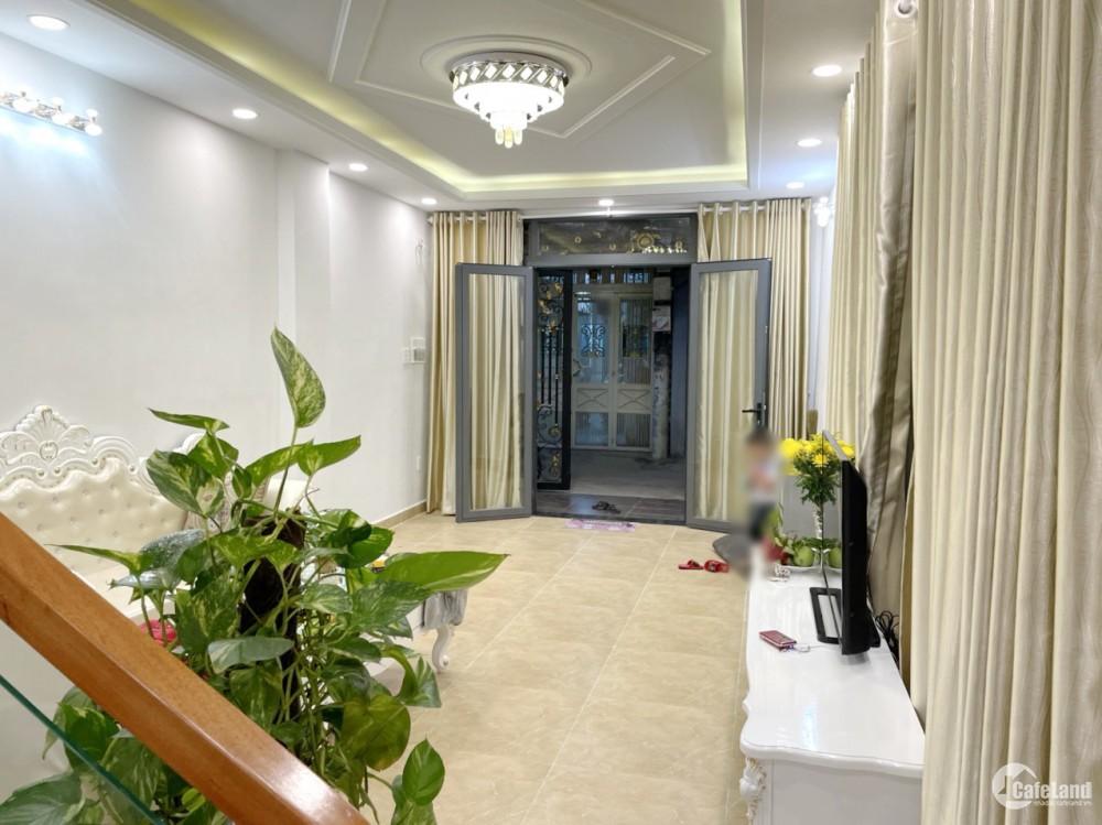 Nhà đẹp (full nội thất) 3 tầng, hẻm ôtô đường Nguyễn Duy Phường 9 Quận 8