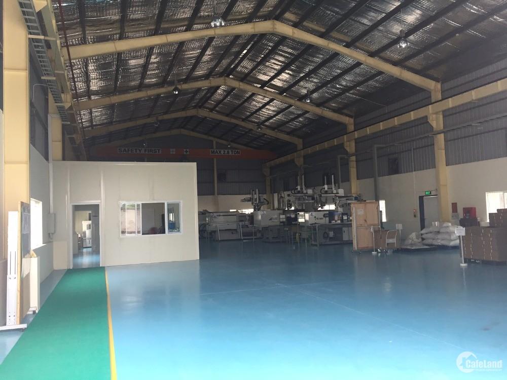 Cho thuê kho xưởng DT 500m2, 1500m2 KCN Hapro Lệ Chi, Gia Lâm, Hà Nội.