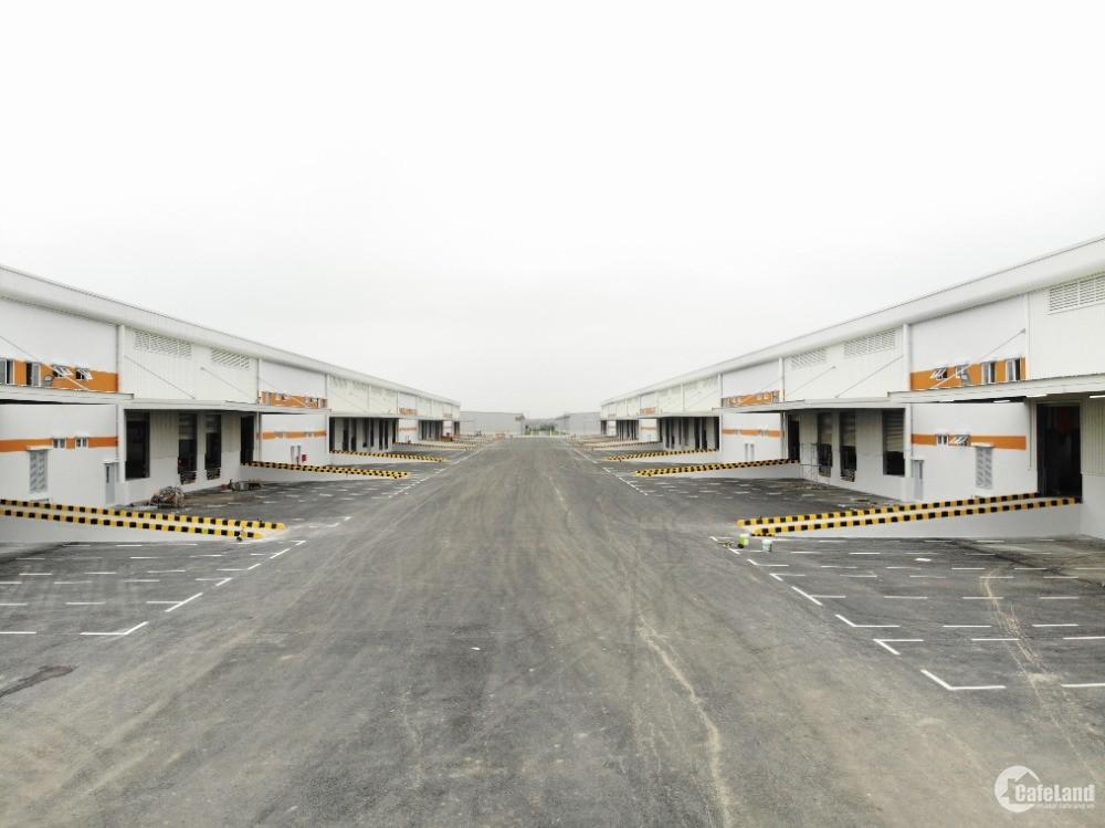 Cho thuê kho chứa hàng/ khai thác dịch vụ logistic tại KCN Yên Mỹ, kho tiêu chuẩ