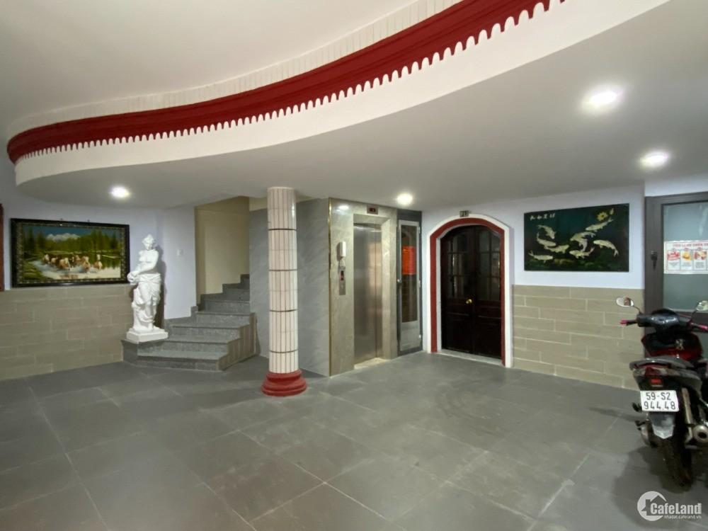 Cho thuê căn hộ tầng trệt Nguyễn Đình Chiểu Q. 3 giá 7 triệu