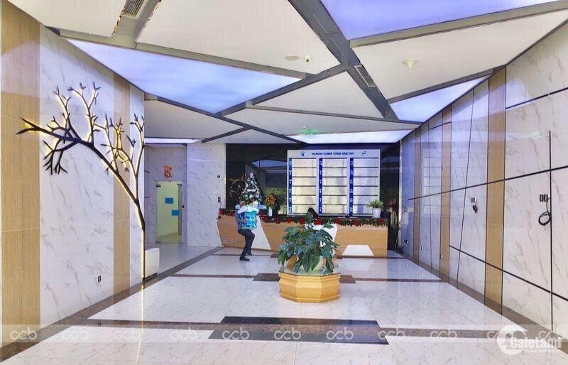 Cho thuê - chuyển nhượng văn phòng sẵn nội thất tòa nhà Diamond Flower