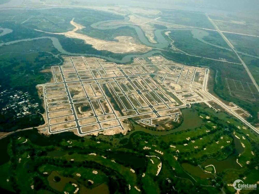 Độc nhất nền Biệt thự 1000m2 view sân gôn, liền kề Q9 thổ cư 100%, giá 20TR/ m2