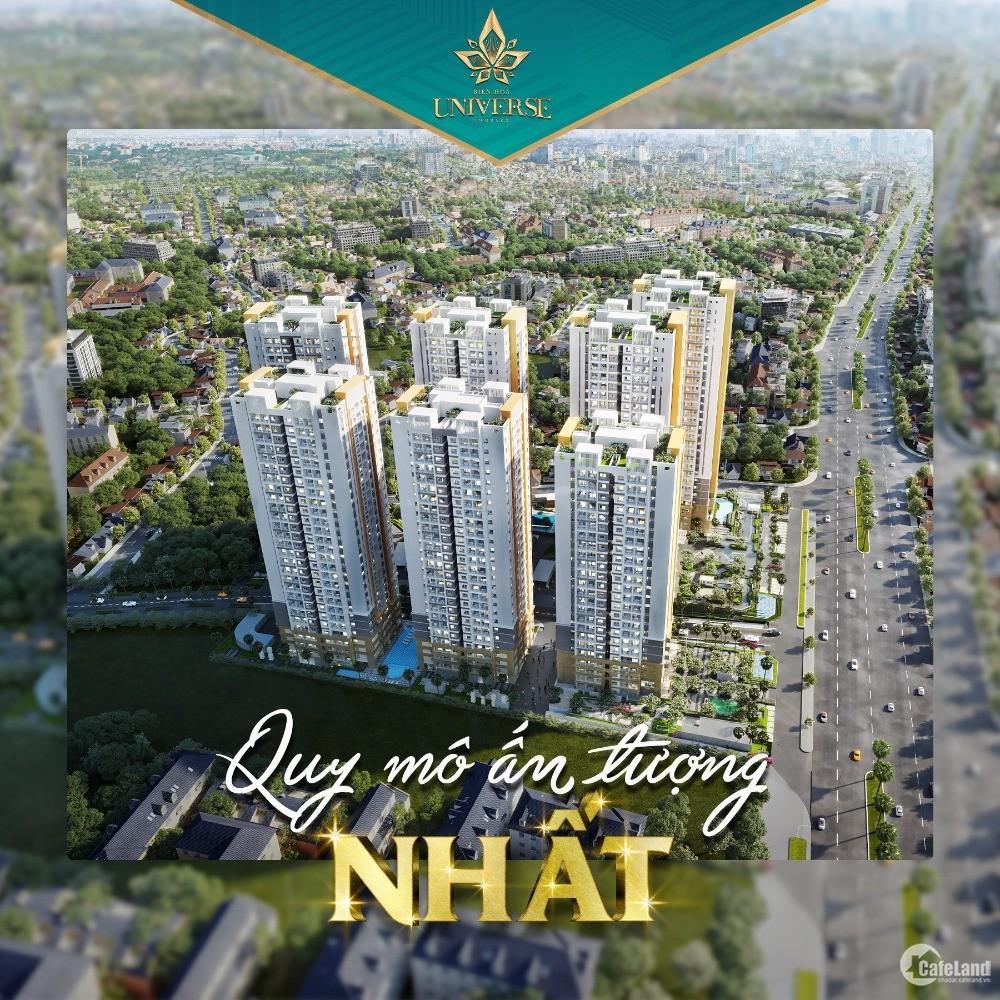 Căn hộ cao cấp Biên Hoà, đường Xa Lộ Hà Nội, Chiết khấu 34%, 2PN/74m2 giá 1,7 tỷ