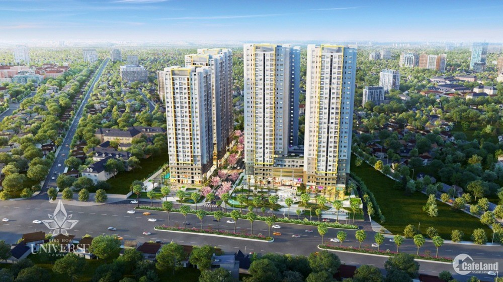 Căn hộ smarthome đủ tiện nghi trung tâm TP Biên Hoà, 74m2/ 1,7 tỷ CĐT Hưng Thịnh