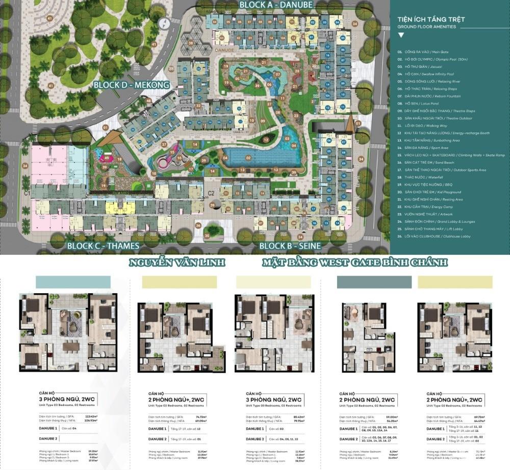 Sở hữu căn hộ trung tâm hành chính Bình Chánh chỉ với 599 triệu