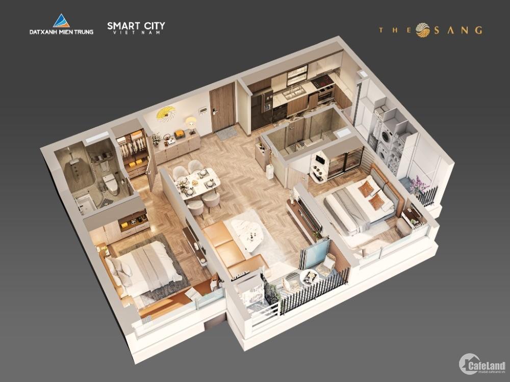 Chỉ 50tr/căn sở hữu được vị trí đẹp TheSangResidence-Không mua hoàn 100%