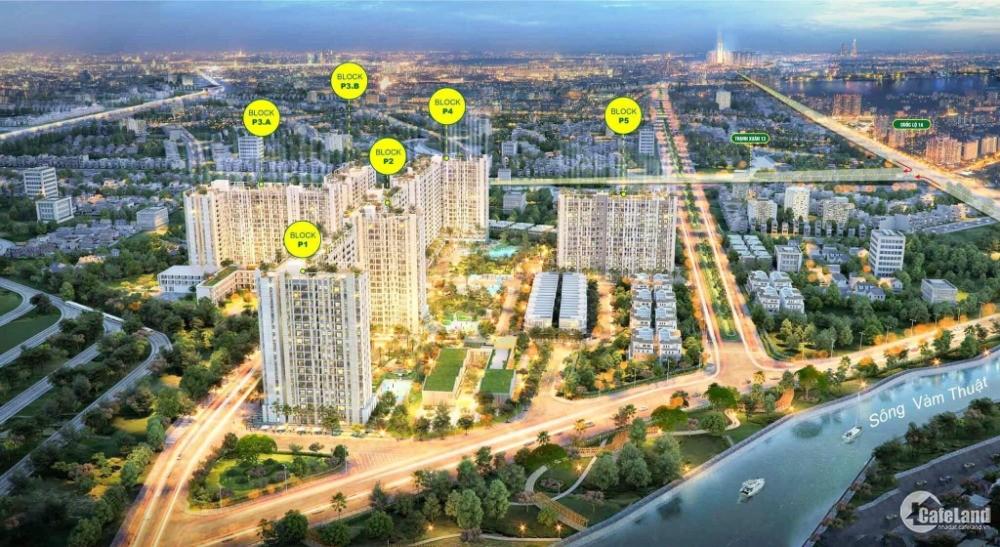 Chỉ 750 triệu (30%) Sở hữu căn hộ cao cấp đầy đủ tiện nghi tại TP.HCM