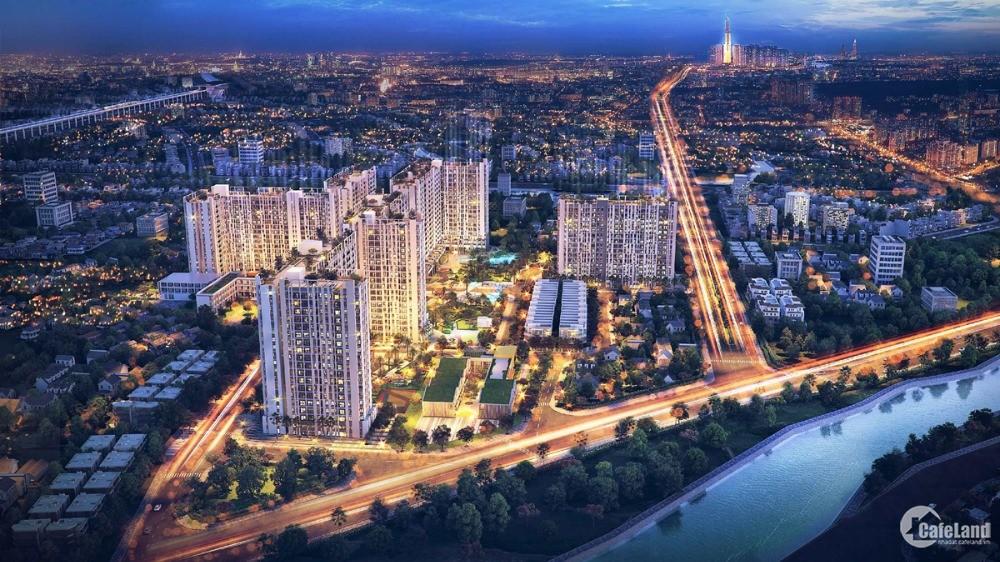 Căn hộ cao cấp Picity High Park 2PN, giá chỉ 2.050 tỷ, thanh toán 600tr