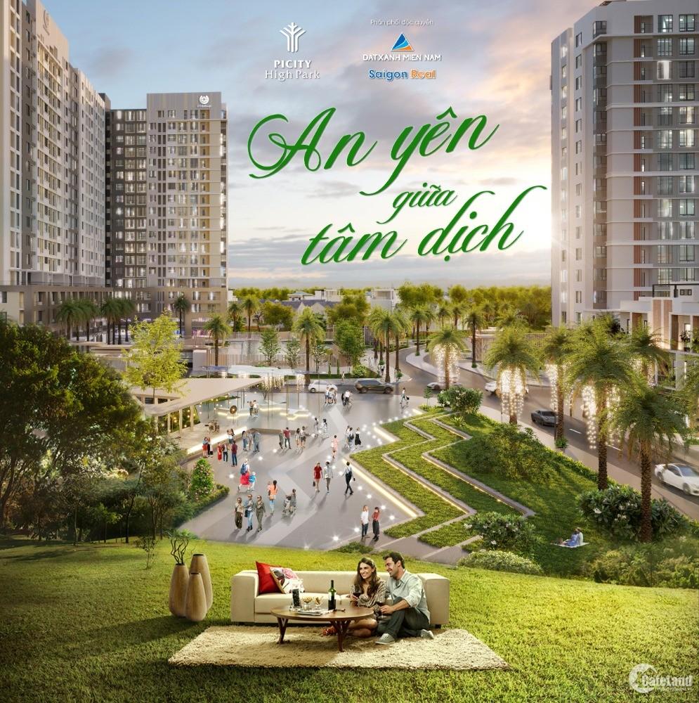 dự án căn hộ cao cấp picity high park thanh toán trước 750tr có thể nhận căn hộ