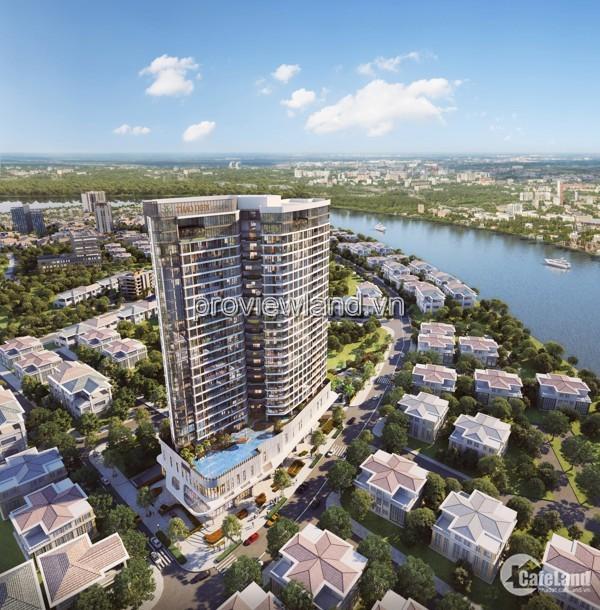 Bán căn hộ Thảo Điền Green, 1PN, 55,3m2, TT 10 đợt, giá chủ đầu tư