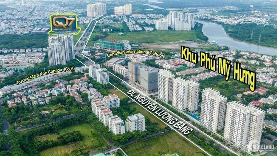Shophouse Q7 Boulevard, liền kề PMH, 140m2 tài chính 5 tỷ nhận nhà KD ngay