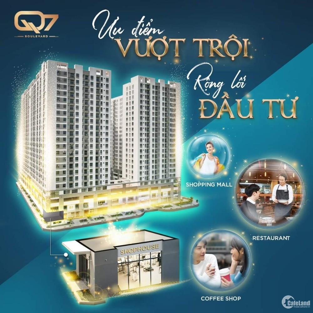 Siêu giảm giá Shophouse Phú Mỹ Hưng quận 7, mới nhận nhà, 140m2 chỉ 6,9 tỷ