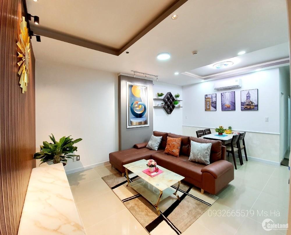Bán căn 75m2 Hoàng Kim sổ hồng, nhà mới, nội thất, thanh toán 700tr ở ngay