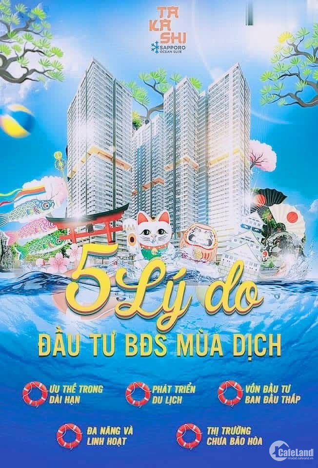 Căn hộ nghỉ dưỡng cao cấp Takashsi Ocean Suite-Quy Nhơn