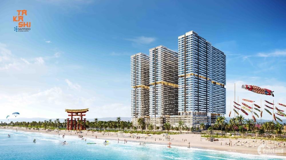 Chỉ 280 triệu sở hữu ngay căn hộ cao cấp mặt biển Quy Nhơn - Takashi Ocean Suite