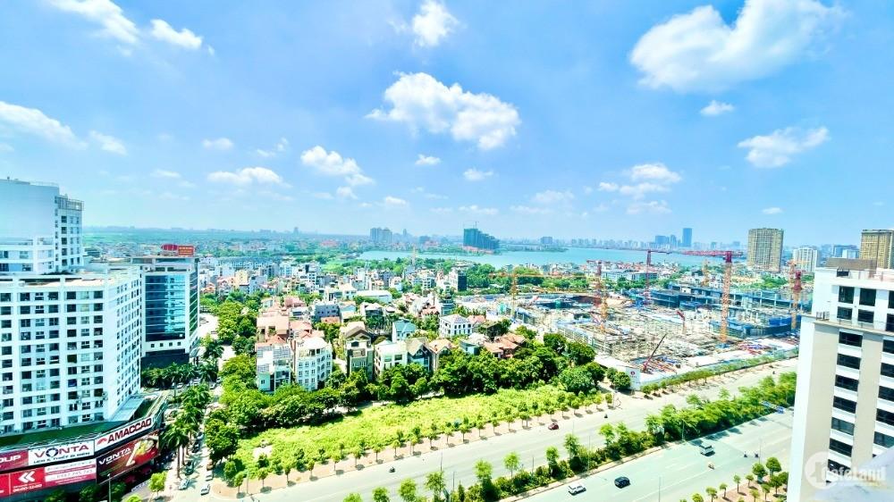 Bán căn hộ mặt đường Võ Chí Công, view Hồ Tây lộng gió. Chỉ cần thanh toán 30% n