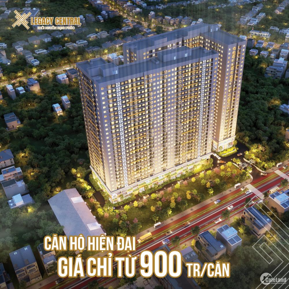 Căn hộ hiện đại ngay trung tâm tp Thuận An, giá 900 triệu ngân hàng hỗ trợ vay 7