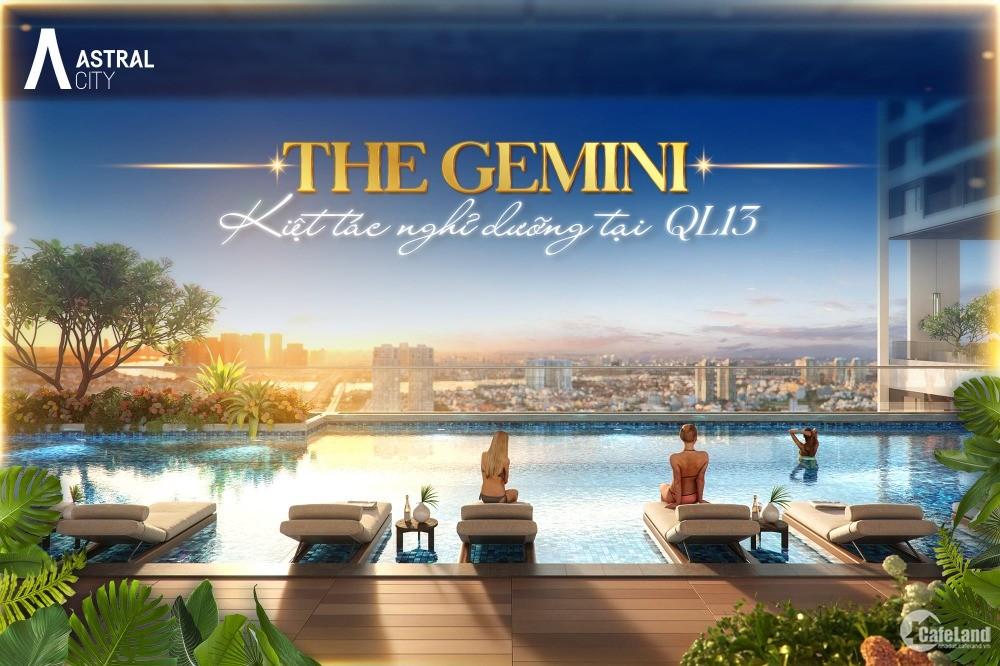 The Gemini - Thế giới nghỉ dưỡng mặt tiền QL13