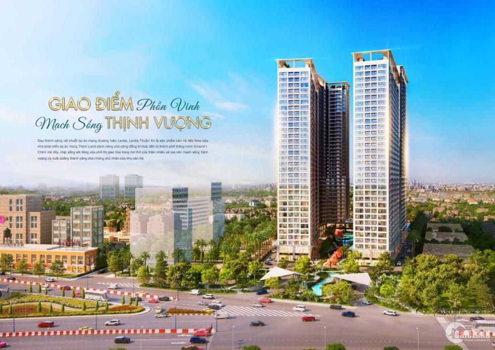 Căn hộ chuẩn Resort Lavita Thuận An - 30% nhận nhà/ 2PN-70m2 chỉ từ 480 Triệu