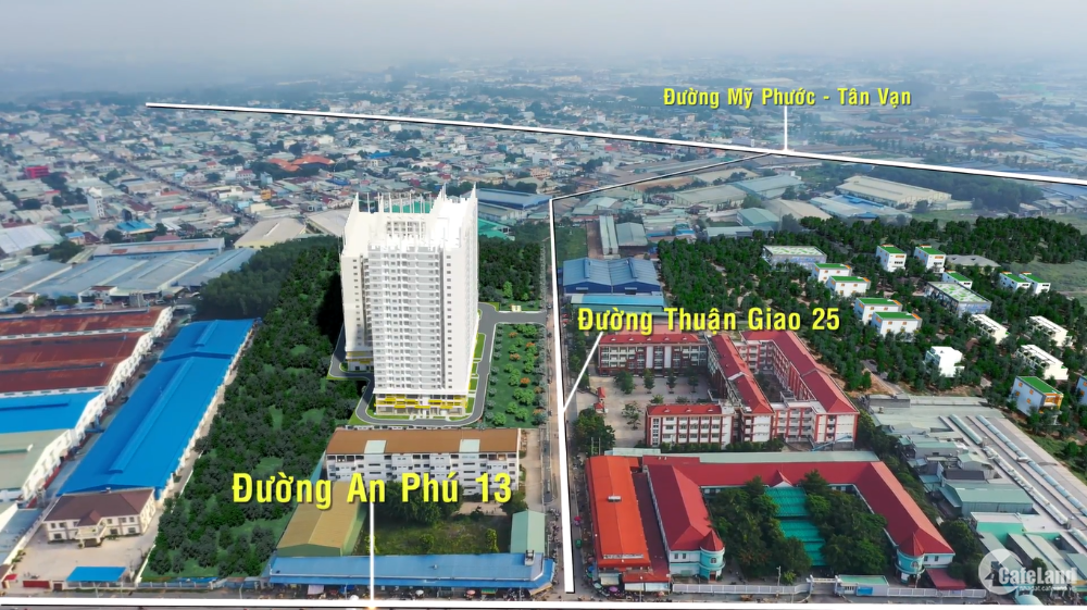 Chỉ 225 Triệu sở hữu căn hộ Legacy Central TTTP Thuận An