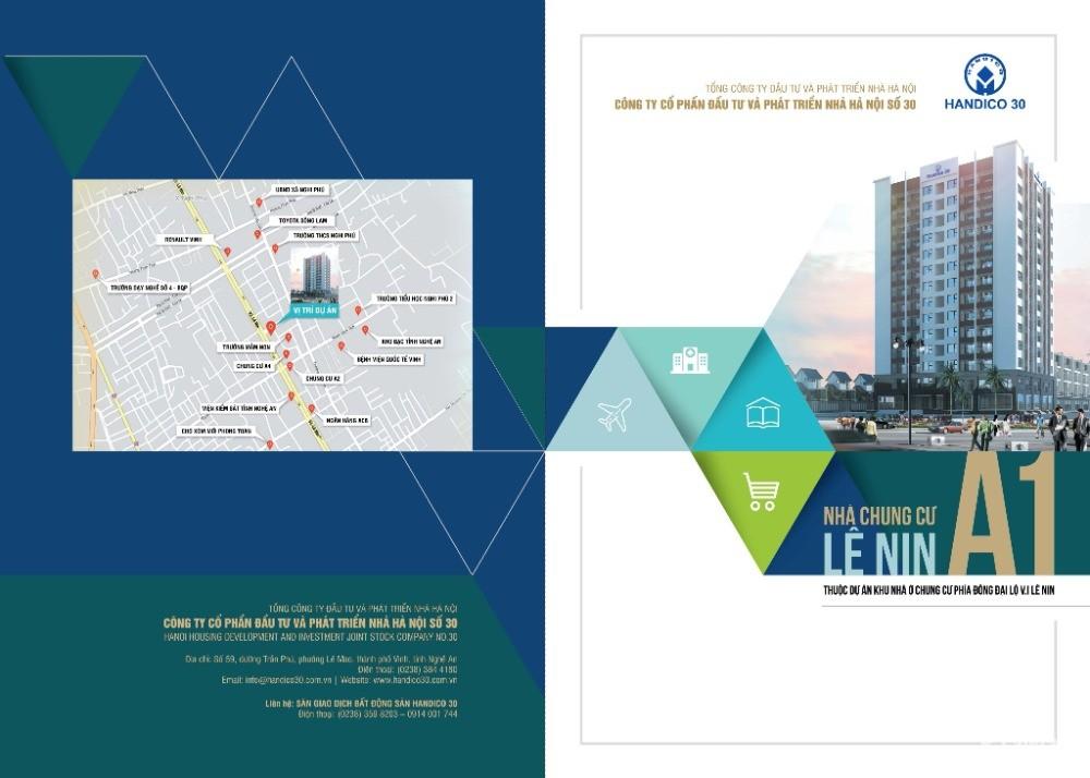 Chung cư Handico A1, Thuộc dự án khu nhà ở chung cư Phía Đông đại lộ Lê Nin
