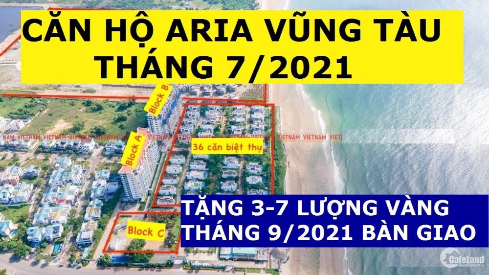 Aria Vũng Tàu 3PN-160m2, View Biển, Giá 5.6 tỷ, Tặng 5 Lượng Sjc, Chiết Khấu 6%