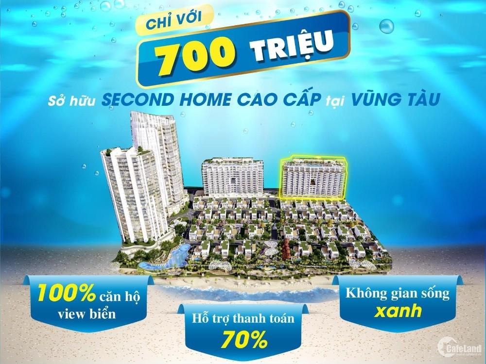 SỞ HỮU SEACOND HOME CAO CẤP VIEW BIỂN VŨNG TÀU CHỈ TỪ 700 TRIỆU