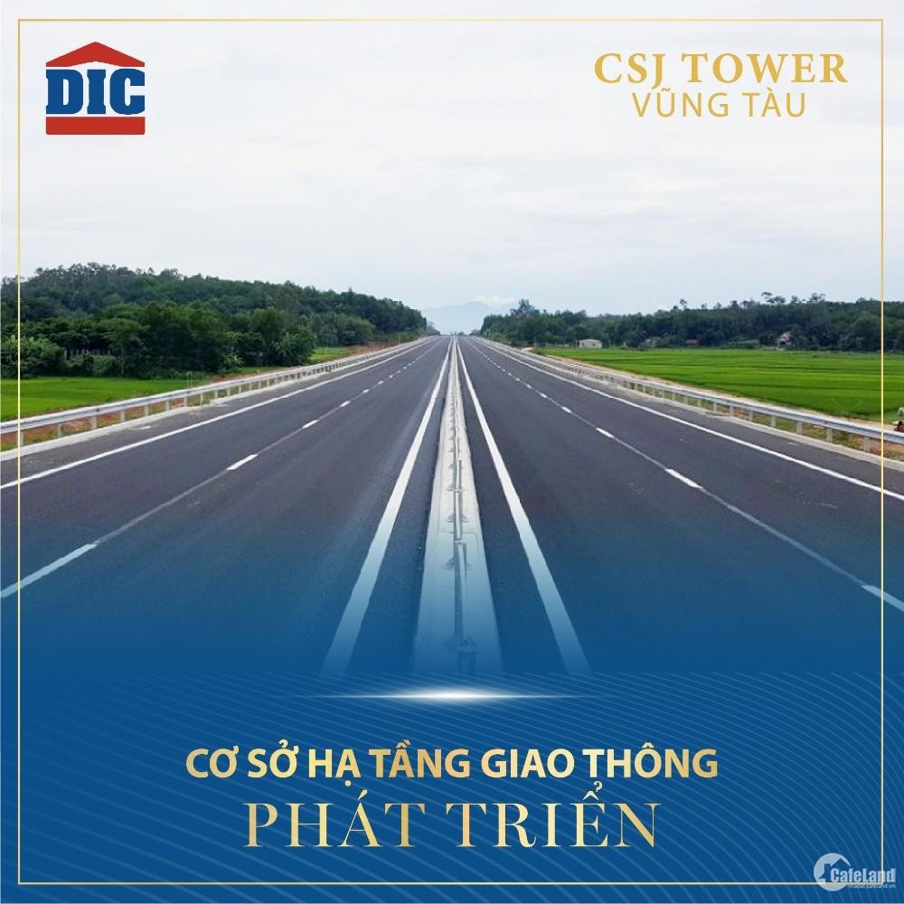 Chỉ còn duy nhất 07 căn hộ dự án CSJ Tower Vũng Tàu giá chủ đầu tư