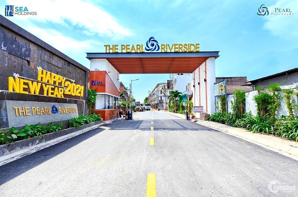Nhà Phố Khu Dân Cư The Pearl Riverside Bến Lức, Nhà Có Sẵn, Sổ Hồng Riêng.