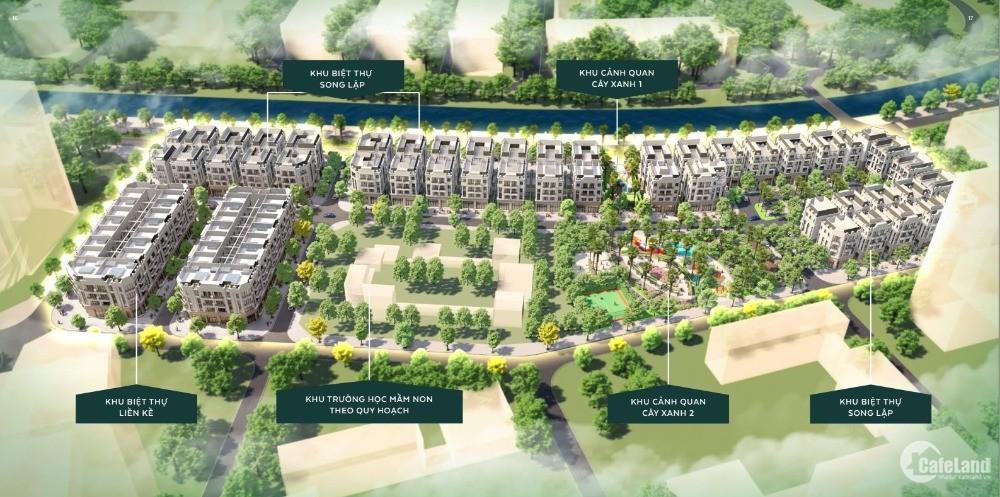Độc quyền dự án liền kề biệt thự The Diamond Point - liền kề Vinhomes Riverside