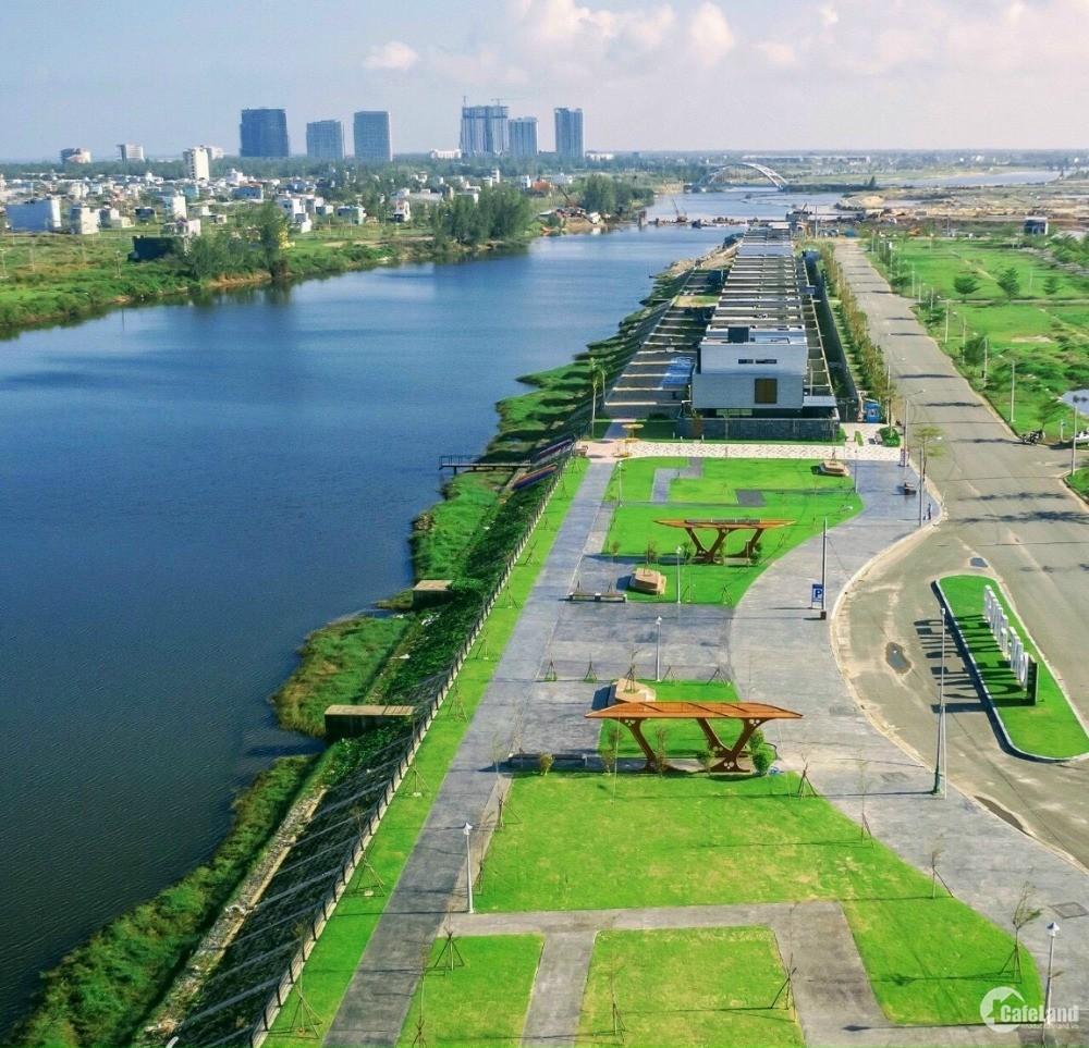 CC thua độ đá banh, bán gấp lô nền biệt thự view sông Hàn Đà Nẵng, DT: 300m2