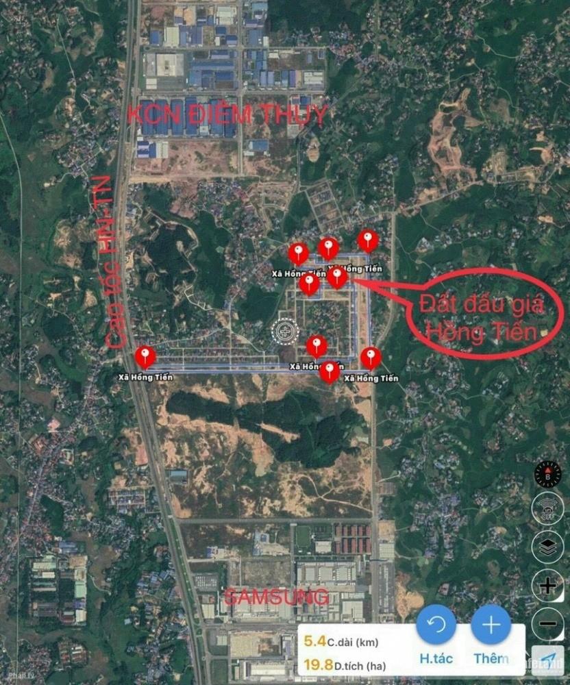 Bán đất nền khu CN Phổ Yên-Thái Nguyên