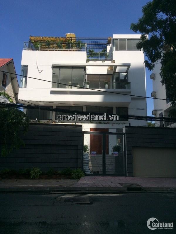 Cần bán nhanh villa Thảo Điền, MT Nguyễn Văn Hưởng, 388m, 4 tầng, sổ hồng
