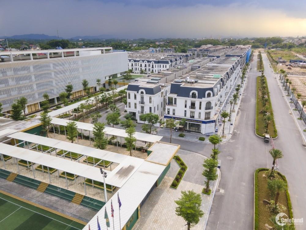 6 lý do bạn nên lựa chọn Khu đô thị Crown Villas Thái Nguyên