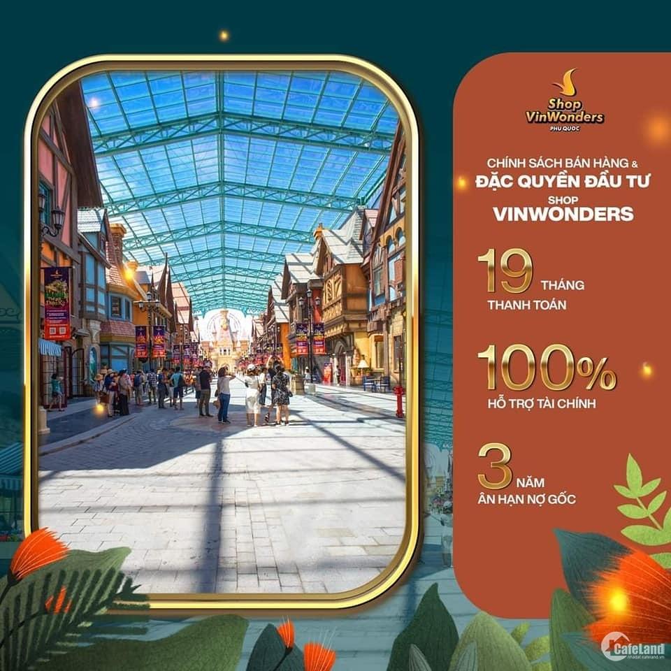 Shop VinVonders Grand World Phú Quốc, Đầu tư 0 đồng, sinh lời cực phẩm