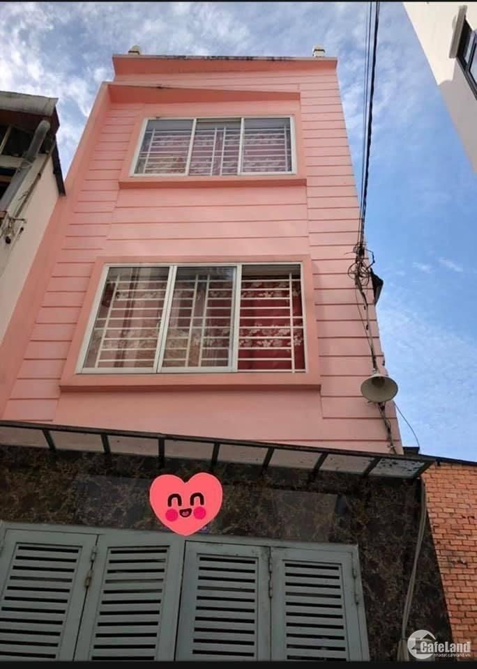 Bán nhà Hẻm xe hơi Nguyễn Thượng Hiền Quận Bình Thạnh giáp Phú Nhuận giá chỉ 4 t
