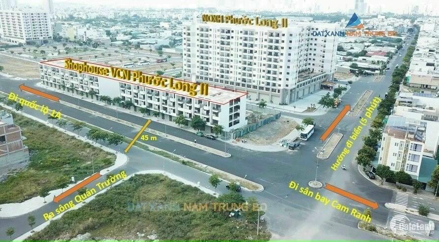 Nhà phố 4 tầng mặt tiền trung tâm Khu đô thị VCN Phước Long, phù hợp kinh doanh