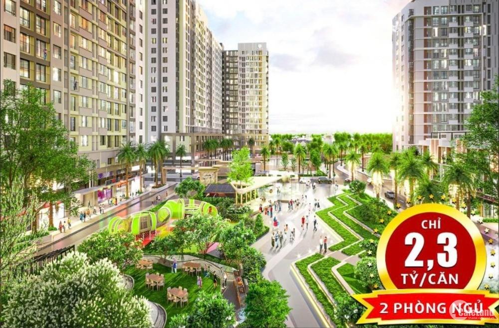 Chung cư Quận 12 57.64m² 2PN chỉ 750tr nhận nhà
