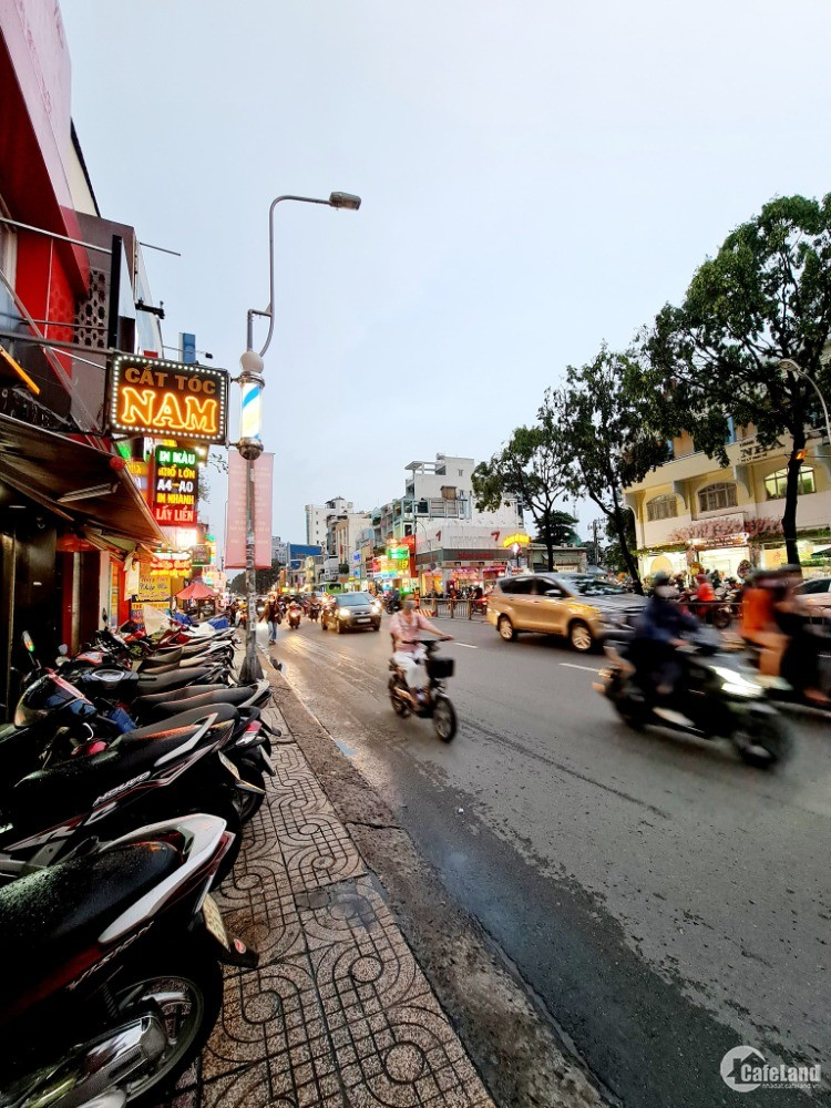Giật gân, mặt tiền Lý Thái Tổ, Quận 3- chỉ 6.2 tỷ rẻ hơn thị trường 600 tiệu.