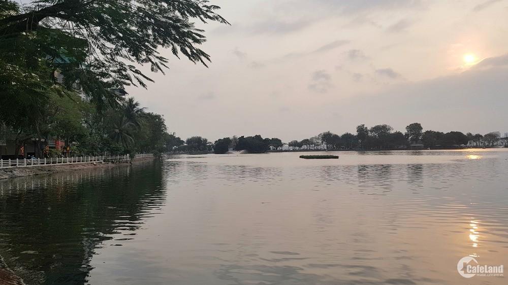 Mặt phố Nguyễn Đình Thi-Tây Hồ, View hồ, vỉa hè, oto, KD. 155m2 40 tỷ
