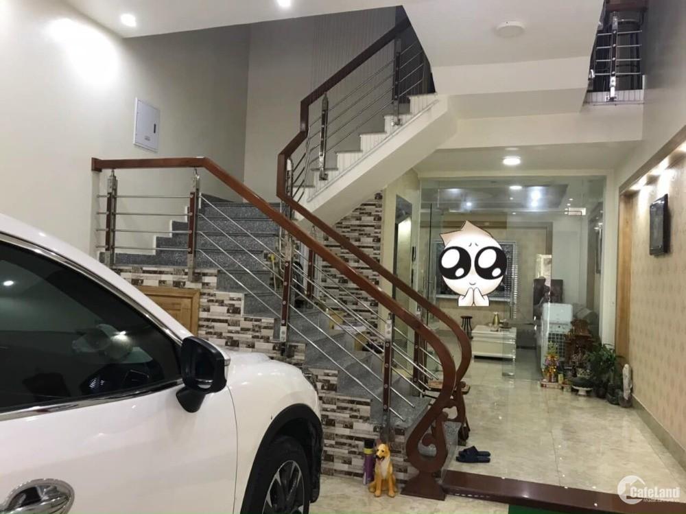 Bán nhà mặt phố KĐT Tuệ Tĩnh, TP HD, 75m2, mt 5m, cầu thang máy, 5 tầng, gara, K