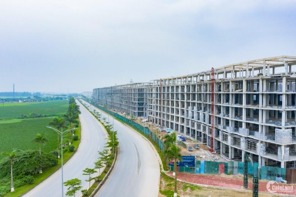 Bán cắt lỗ lô liền kề 80m2 cạnh KCN SamSung-Bắc Ninh, đã có sổ đỏ